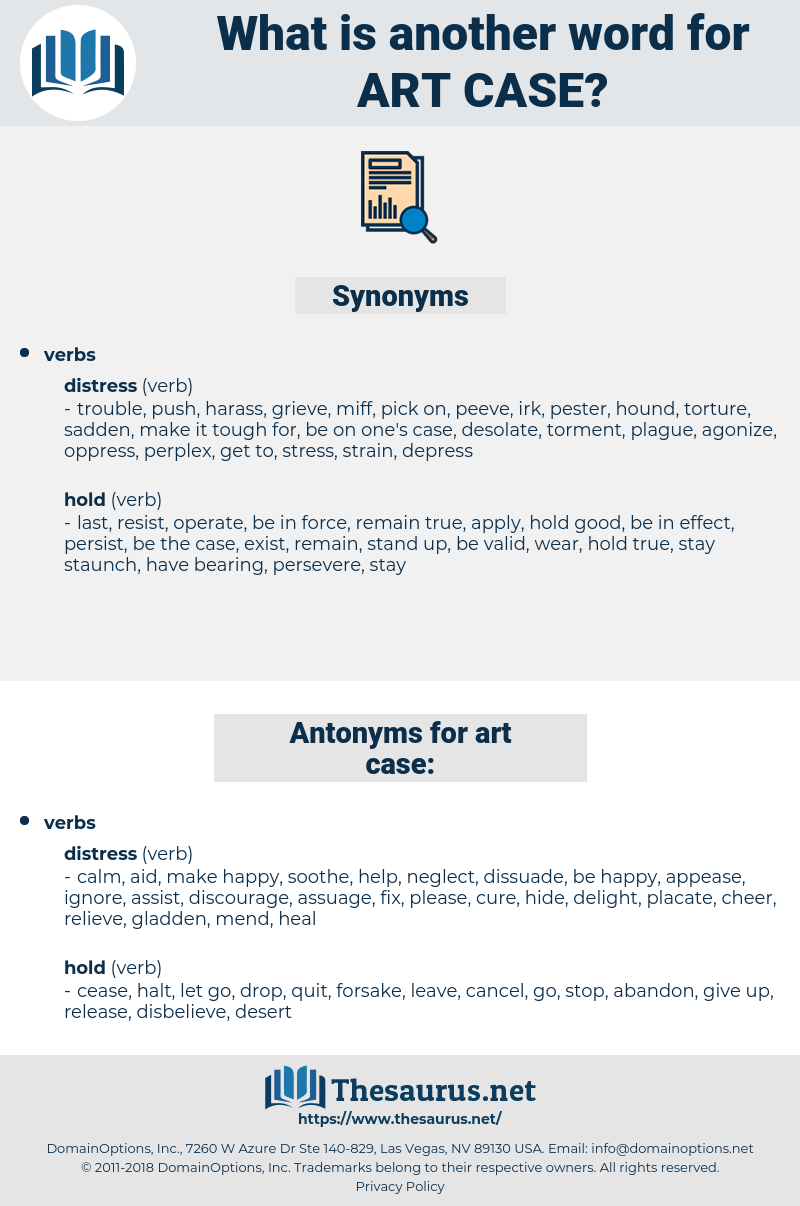 art case, synonym art case, another word for art case, words like art case, thesaurus art case