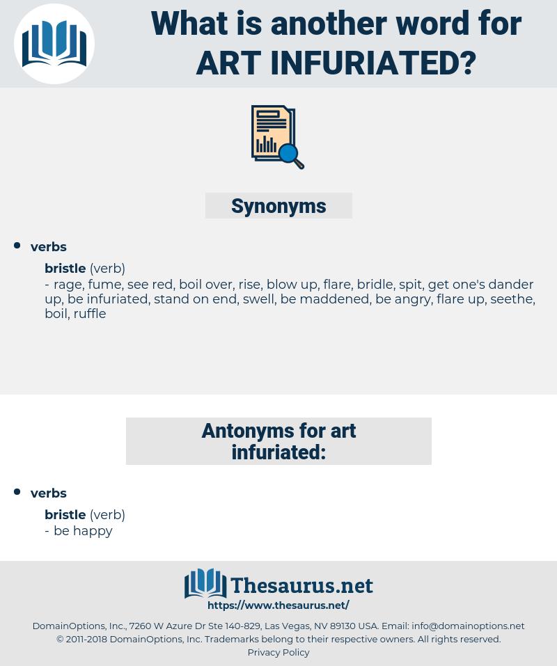 art infuriated, synonym art infuriated, another word for art infuriated, words like art infuriated, thesaurus art infuriated