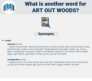 art out woods, synonym art out woods, another word for art out woods, words like art out woods, thesaurus art out woods