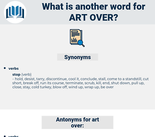 art over, synonym art over, another word for art over, words like art over, thesaurus art over
