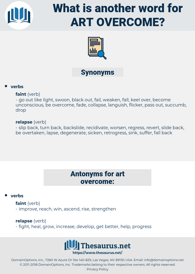 art overcome, synonym art overcome, another word for art overcome, words like art overcome, thesaurus art overcome