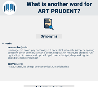 art prudent, synonym art prudent, another word for art prudent, words like art prudent, thesaurus art prudent