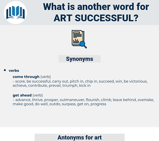 art successful, synonym art successful, another word for art successful, words like art successful, thesaurus art successful