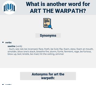art the warpath, synonym art the warpath, another word for art the warpath, words like art the warpath, thesaurus art the warpath