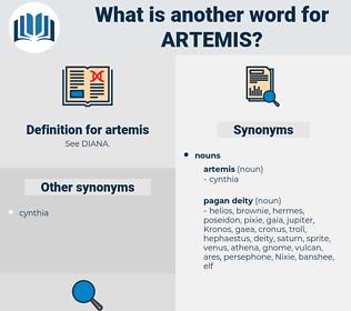artemis, synonym artemis, another word for artemis, words like artemis, thesaurus artemis