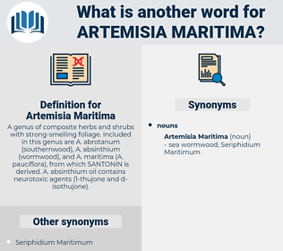 Artemisia Maritima, synonym Artemisia Maritima, another word for Artemisia Maritima, words like Artemisia Maritima, thesaurus Artemisia Maritima
