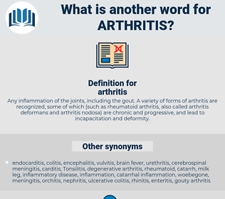 arthritis, synonym arthritis, another word for arthritis, words like arthritis, thesaurus arthritis