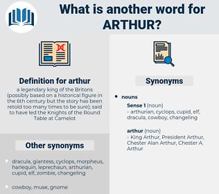 arthur, synonym arthur, another word for arthur, words like arthur, thesaurus arthur