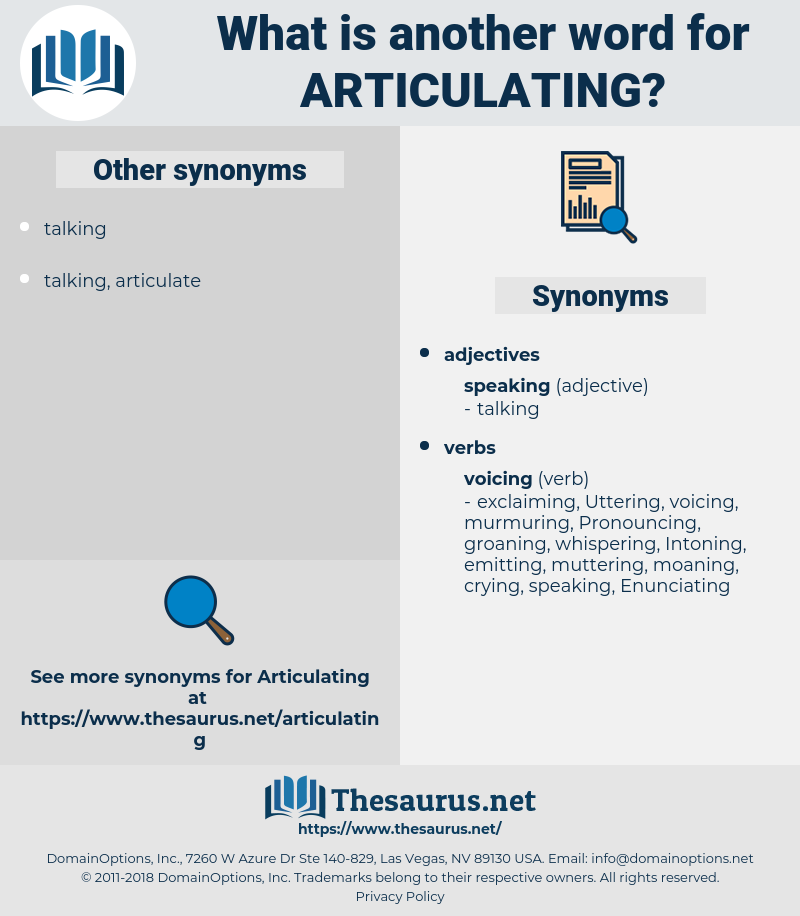 Articulating, synonym Articulating, another word for Articulating, words like Articulating, thesaurus Articulating