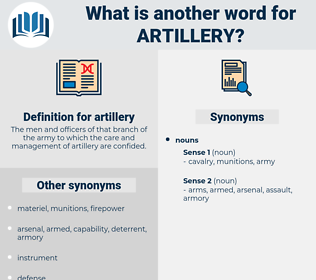 artillery, synonym artillery, another word for artillery, words like artillery, thesaurus artillery