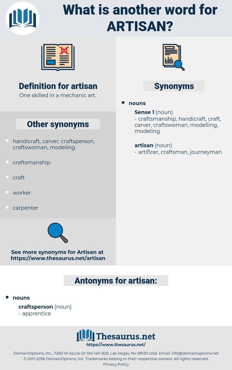 artisan, synonym artisan, another word for artisan, words like artisan, thesaurus artisan