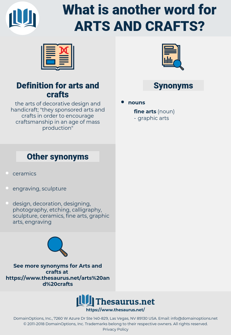 Synonyms For Arts And Crafts Thesaurus Net