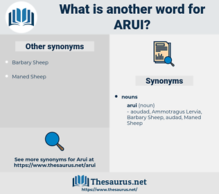 arui, synonym arui, another word for arui, words like arui, thesaurus arui