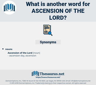 ascension of the lord, synonym ascension of the lord, another word for ascension of the lord, words like ascension of the lord, thesaurus ascension of the lord