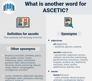 ascetic, synonym ascetic, another word for ascetic, words like ascetic, thesaurus ascetic