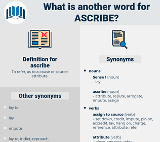 ascribe, synonym ascribe, another word for ascribe, words like ascribe, thesaurus ascribe