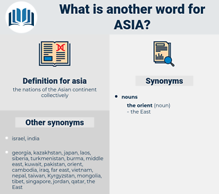 asia, synonym asia, another word for asia, words like asia, thesaurus asia