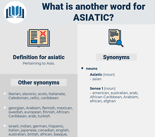 asiatic, synonym asiatic, another word for asiatic, words like asiatic, thesaurus asiatic