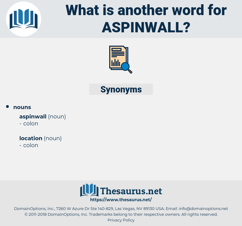 aspinwall, synonym aspinwall, another word for aspinwall, words like aspinwall, thesaurus aspinwall