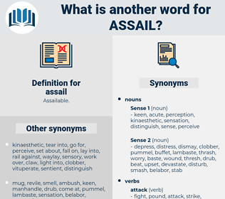 assail, synonym assail, another word for assail, words like assail, thesaurus assail