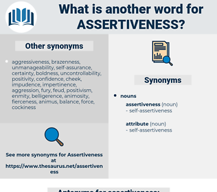 assertiveness, synonym assertiveness, another word for assertiveness, words like assertiveness, thesaurus assertiveness