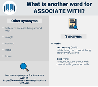 associate with, synonym associate with, another word for associate with, words like associate with, thesaurus associate with
