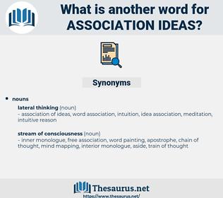 association ideas, synonym association ideas, another word for association ideas, words like association ideas, thesaurus association ideas