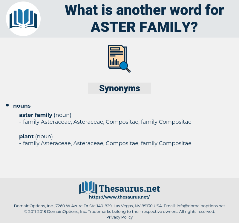 aster family, synonym aster family, another word for aster family, words like aster family, thesaurus aster family