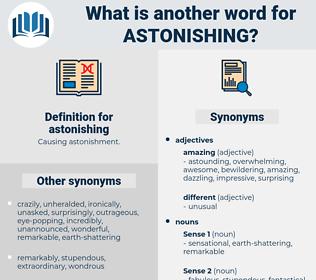 astonishing, synonym astonishing, another word for astonishing, words like astonishing, thesaurus astonishing