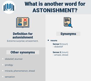 astonishment, synonym astonishment, another word for astonishment, words like astonishment, thesaurus astonishment