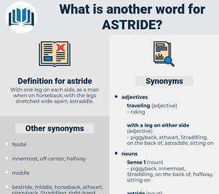 astride, synonym astride, another word for astride, words like astride, thesaurus astride