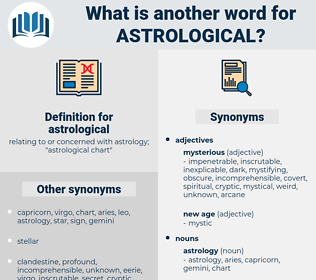 astrological, synonym astrological, another word for astrological, words like astrological, thesaurus astrological