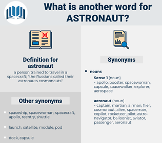 astronaut, synonym astronaut, another word for astronaut, words like astronaut, thesaurus astronaut