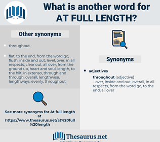 at full length, synonym at full length, another word for at full length, words like at full length, thesaurus at full length