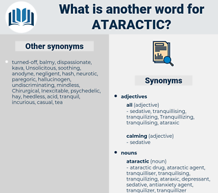ataractic, synonym ataractic, another word for ataractic, words like ataractic, thesaurus ataractic