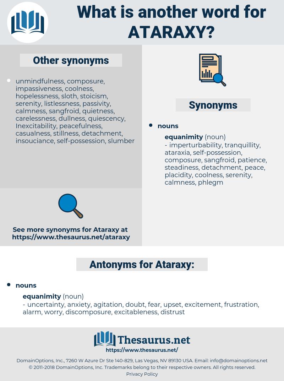 Ataraxy, synonym Ataraxy, another word for Ataraxy, words like Ataraxy, thesaurus Ataraxy