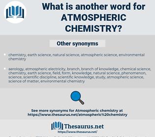 atmospheric chemistry, synonym atmospheric chemistry, another word for atmospheric chemistry, words like atmospheric chemistry, thesaurus atmospheric chemistry