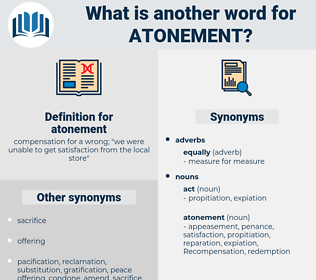 atonement, synonym atonement, another word for atonement, words like atonement, thesaurus atonement