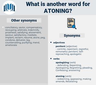 Atoning, synonym Atoning, another word for Atoning, words like Atoning, thesaurus Atoning