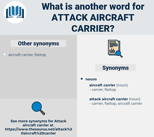 attack aircraft carrier, synonym attack aircraft carrier, another word for attack aircraft carrier, words like attack aircraft carrier, thesaurus attack aircraft carrier