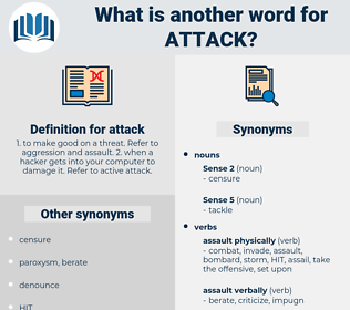 attack, synonym attack, another word for attack, words like attack, thesaurus attack