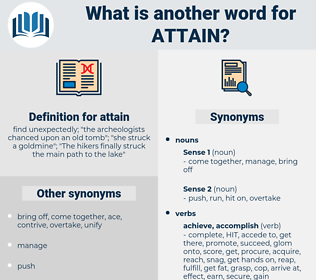 attain, synonym attain, another word for attain, words like attain, thesaurus attain