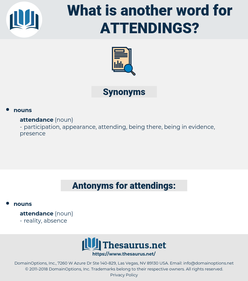 attendings, synonym attendings, another word for attendings, words like attendings, thesaurus attendings