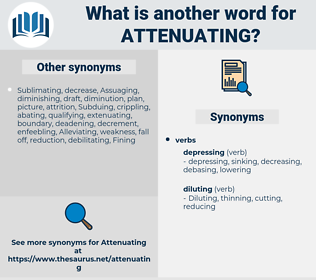 Attenuating, synonym Attenuating, another word for Attenuating, words like Attenuating, thesaurus Attenuating