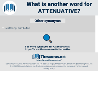 attenuative, synonym attenuative, another word for attenuative, words like attenuative, thesaurus attenuative