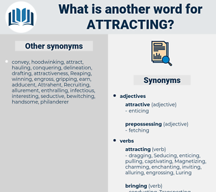 Attracting, synonym Attracting, another word for Attracting, words like Attracting, thesaurus Attracting