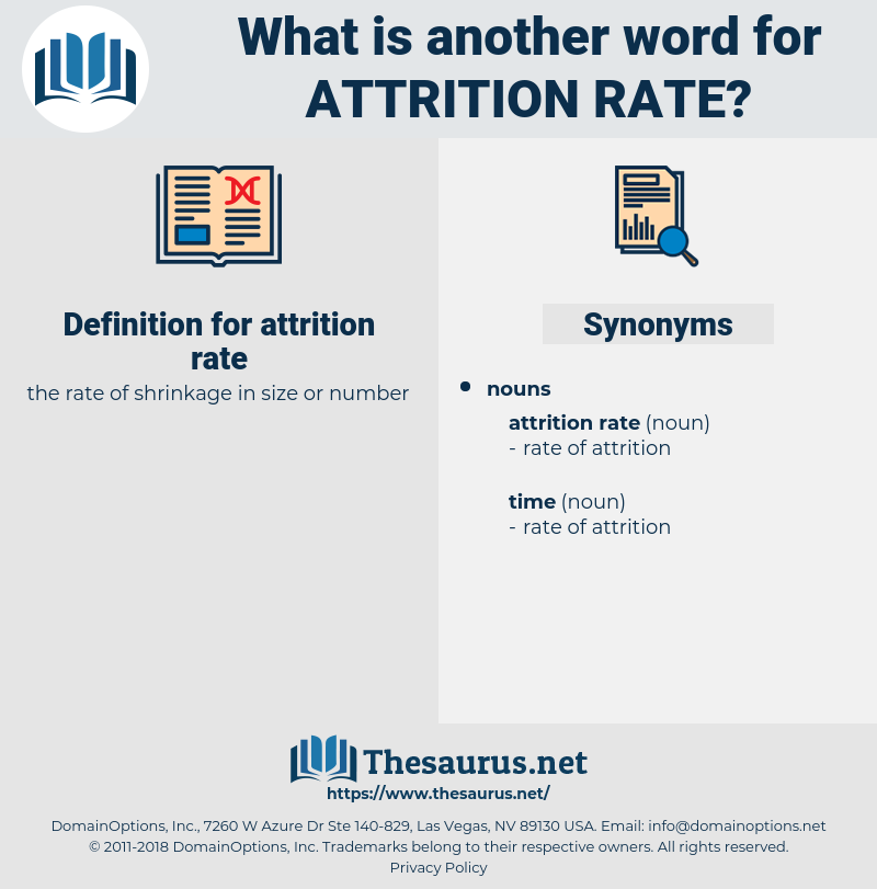 attrition rate, synonym attrition rate, another word for attrition rate, words like attrition rate, thesaurus attrition rate