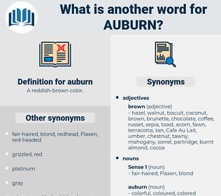 auburn, synonym auburn, another word for auburn, words like auburn, thesaurus auburn