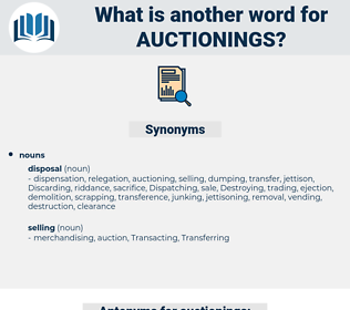 auctionings, synonym auctionings, another word for auctionings, words like auctionings, thesaurus auctionings
