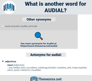 audial, synonym audial, another word for audial, words like audial, thesaurus audial